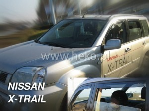 Wind deflectors NISSAN X-Trail I (T30) 5d 2001-2007 (front only)