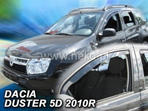 Wind deflectors DACIA Duster I 5d 2010-2018 (front only)