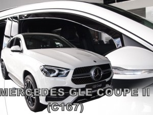 Wind deflectors   MERCEDES GLE Coupe C167 5d 2019-> (front only)