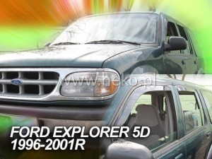 Wind deflectors FORD Explorer II 5d 1996-2001 (rear deflectors included)
