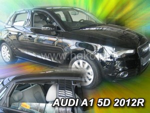 Wind deflectors AUDI A1 5d 2011-> (rear deflectors included)