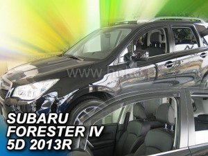 Wind deflectors SUBARU Forester IV 5d 2013-2018 (front only)