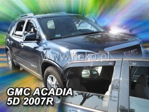 Wind deflectors GMC Acadia 5d 2006-> (rear deflectors included)