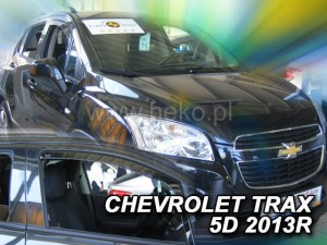 Wind deflectors CHEVROLET Trax 5d 2013->