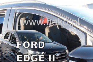 Wind deflectors FORD Edge 5d 2016->