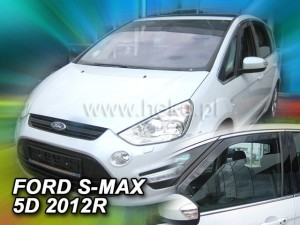 Wind deflectors FORD S-Max I (LIF->) . 5d 2010-2016 (front only)