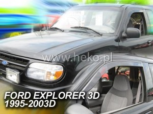 Wind deflectors FORD Explorer II 3d 1995-2003