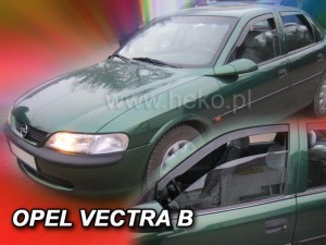 Wind deflectors OPEL Vectra B 4/5d 1996-2002 (front only)