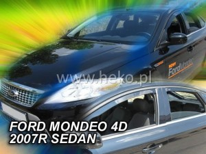 Wind deflectors FORD Mondeo MK4 4/5d 2007-2014 sedan (rear deflectors included).htb