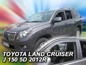 Wind deflectors TOYOTA Land Cruiser J150 3d / 5d 2009-> (front only)