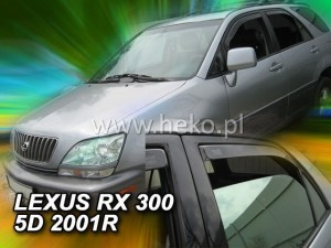 Wind deflectors LEXUS RX 300 5d 1998-2003 (USA) (rear deflectors included)