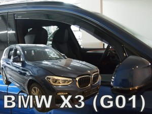 Wind deflectors BMW X3 G01 5d 2017-> (front only)