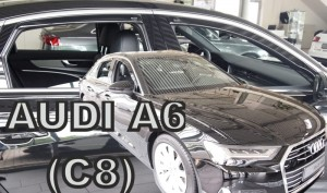 Wind deflectors AUDI A6 (C8) 4d 2018-> sedan (rear deflectors included)