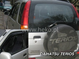 Wind deflectors DAIHATSU Terios I 5d 1998-2005 (front only)
