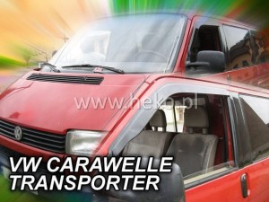 Wind deflectors VOLKSWAGEN Caravelle 2d 1990-2003 / T-4 / (stick-on) (front only)