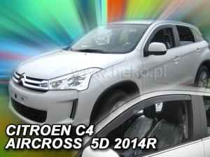 Wind deflectors CITROEN C4 AIRCROSS 5d 2012->