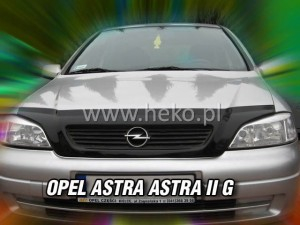 Wind deflector for front windscreen OPEL Astra II G 3/4/5d (mounted with clips)