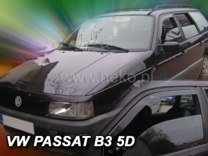 Wind deflectors VOLKSWAGEN Passat 4d 05.1988-1996 sedan B3 B4 (front only)