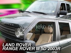 Wind deflectors LAND ROVER Range Rover III 5d 2002-2012 (front only)