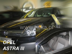 Wind deflectors OPEL Astra III H 4/5d 2004-2014 (front only)
