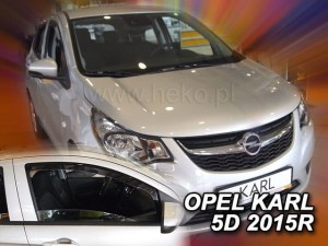 Wind deflectors OPEL Karl 5d 2015->