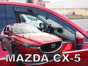 Wind deflectors MAZDA CX5 5d 2017->