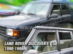 Wind deflectors LAND ROVER Discovery I 5d 1990-1998 (rear deflectors included)