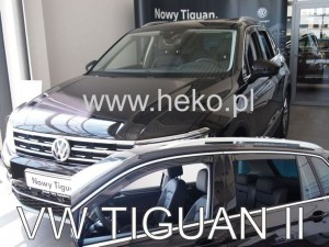 Wind deflectors VOLKSWAGEN Tiguan II 5d 2015-> (rear deflectors included)