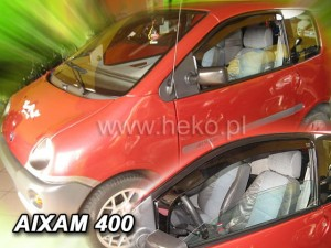 Wind deflectors AIXAM City 400 3d