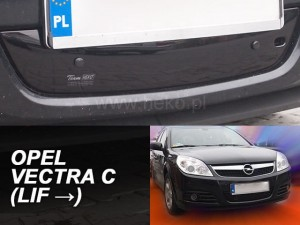 Winter cover OPEL Vectra C 2006-> (bottom) (mesh grille)