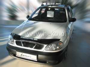 Wind deflector for front windscreen DAEWOO Lanos (stick-on)