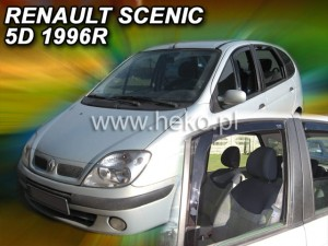 Owiewki RENAULT Scenic 5d 1996-2003