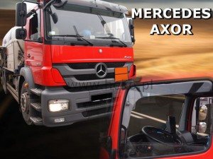 Wind deflectors MERCEDES 817 2d 2001 / Axor