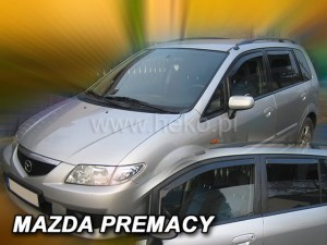 Wind deflectors MAZDA Premacy 5d 1999-2005