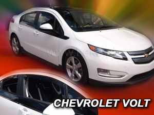 Wind deflectors CHEVROLET VOLT 5d 2010-2015 (rear deflectors included)