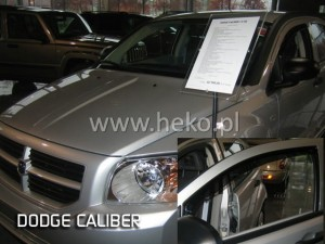 Wind deflectors DODGE Caliber 5d 2006-2011  (front only)