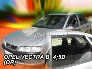 Wind deflectors OPEL Vectra B 4/5d 1996-2002 sedan htb (stick-on) (rear deflectors included)