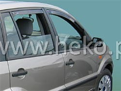 Wind deflectors FORD Fusion 5d 2002-> (rear deflectors included)