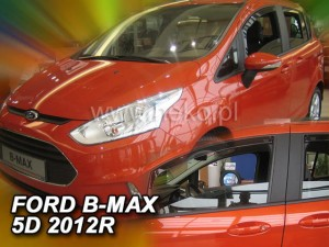 Wind deflectors FORD B-Max 5d 2012->