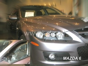 Wind deflectors MAZDA 6 I GG / GY 4/5d 06.2002-2007 (front only)