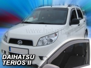 Wind deflectors DAIHATSU Terios II 5d 2006-2013 (rear deflectors included)