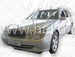 Wind deflectors MERCEDES E W211 4.5d 03.2002-2009 (front only)