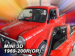 Wind deflectors MINI 3d 1969-2000 (stick-on) (front only)