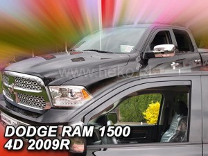 Wind deflectors DODGE Ram 1500 IV 4d 2009-2018 (front only)