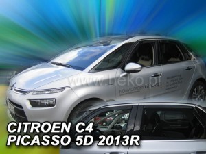 Wind deflectors CITROEN C4 Picasso Mk2 5d 2013-> (rear deflectors included)