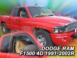 Wind deflectors DODGE Ram 1500 4d 1991-2002 (front only)