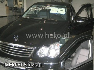 Wind deflectors MERCEDES C W203 4/5d 2000-2007