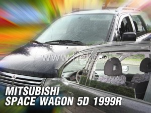 Wind deflectors MITSUBISHI Space Wagon 5d 1999-2005 (front only)