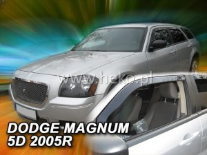 Wind deflectors DODGE Magnum 5d 2005-2008 (front only)
