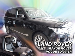 Wind deflectors LAND ROVER Voque IV 5d 2012->